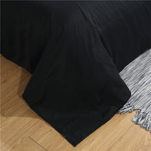 Load image into Gallery viewer, Black Skull Bedding Set
