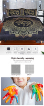 Load image into Gallery viewer, Mandala Elephant Bed Set