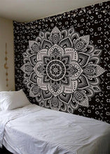 Load image into Gallery viewer, Yin Yang Printed Lotus Mandala Tapestry - Various Styles