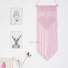 Load image into Gallery viewer, Macrame Hearts