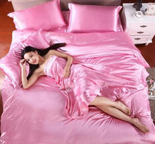 Load image into Gallery viewer, Satin Bedding Set