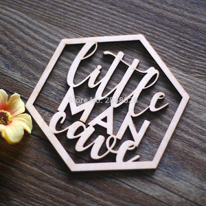 Personalised Timber Laser Cut Plaque