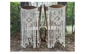 Macrame Chair Sashes