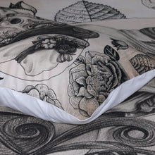 Load image into Gallery viewer, Sugar Love Skull Bedding Set