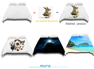 Custom Made Bedding set- Get your photo printed