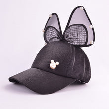 Load image into Gallery viewer, Girls Bow Hat - 3 to 8 Years Old