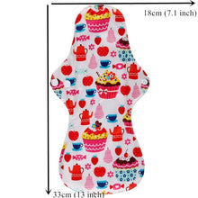 Load image into Gallery viewer, 10PC Heavy Flow Reusable Menstrual Pads