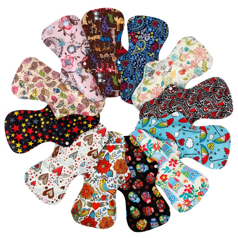 10PC Heavy Flow Reusable Menstrual Pads