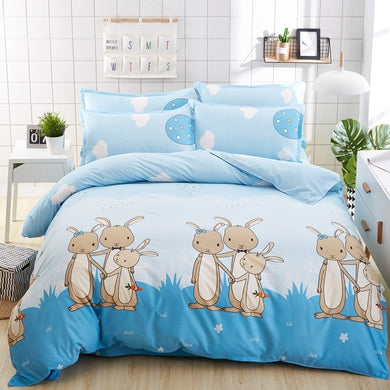 Cute Bunny Bed Set