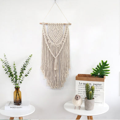 Hand Knotted Macrame Wall Art - 17 Styles