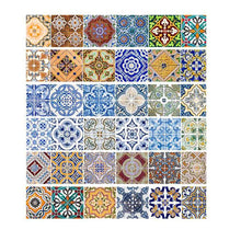 Load image into Gallery viewer, 6 Pcs Set Mosaic Stairway Sticker Tiles