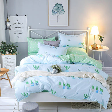 Cactus Bedding Set - 4 pieces