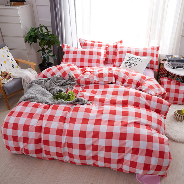 Country Bedding Set - 4 pieces