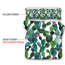 Load image into Gallery viewer, Cactus Love Duvet Cover Set