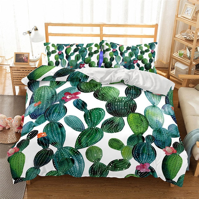 Cactus Love Duvet Cover Set