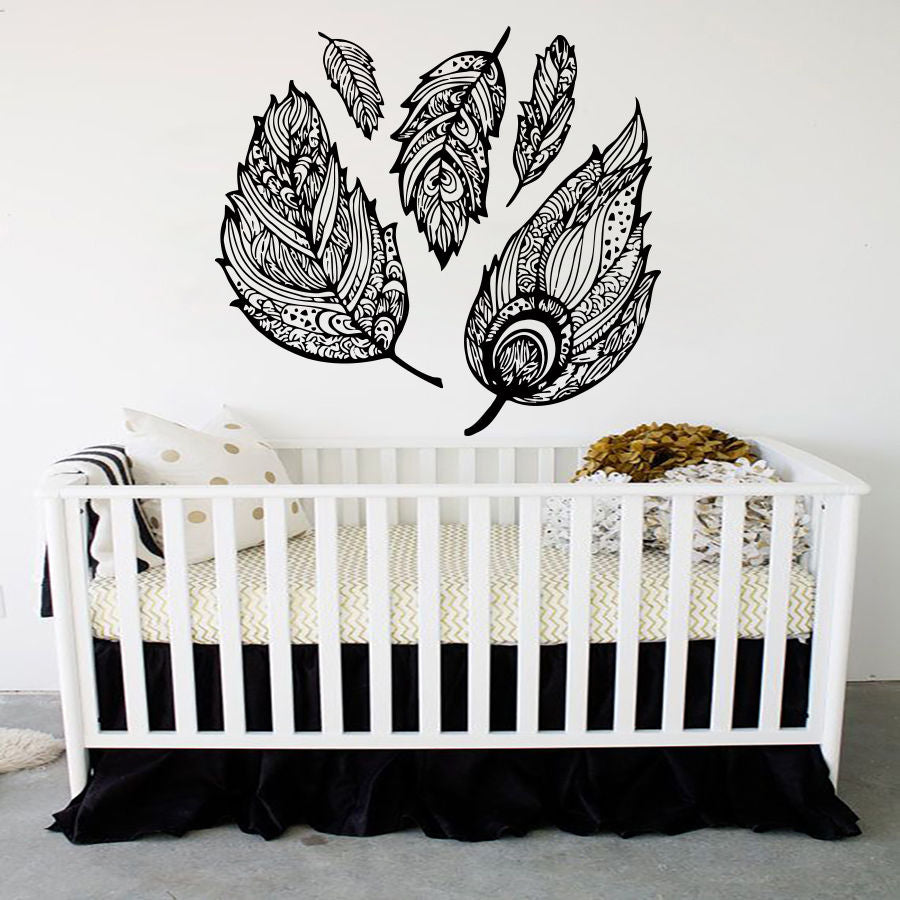 Dream Catcher Decal Feather