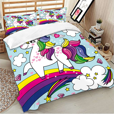 Happy Self Unicorn Bedding Set