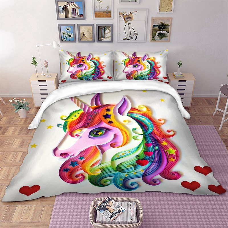 Melt my Heart Unicorn Bedding Set
