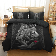 Load image into Gallery viewer, Sugar Skull And Motorcycle Bedding Set - 6 styles