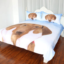 Load image into Gallery viewer, Dachshund Sausage Bedding Set