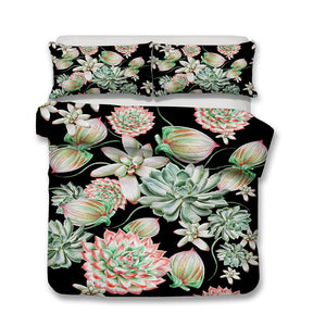 Succulents Garden Duvet Cover Set