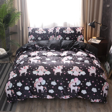 In the Clouds Unicorn Bedding set