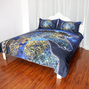 Paisley Unicorn Bedding Set