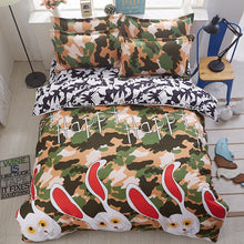 Load image into Gallery viewer, Camouflage Bunny Bed Set