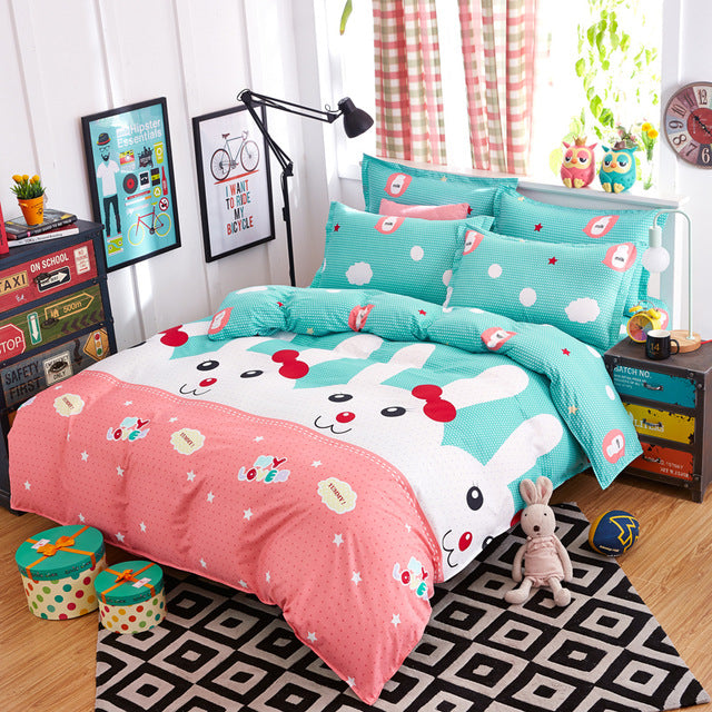 Happy Easter Bunny Bed Set