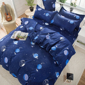Kids Space Planet Bed Set