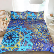 Load image into Gallery viewer, Snowflake Bedding Set