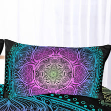 Load image into Gallery viewer, Indian Mandala Magic Quilt Cover Set