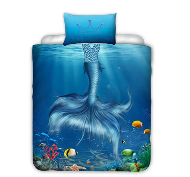 Mermaid Bed Set - Single Size