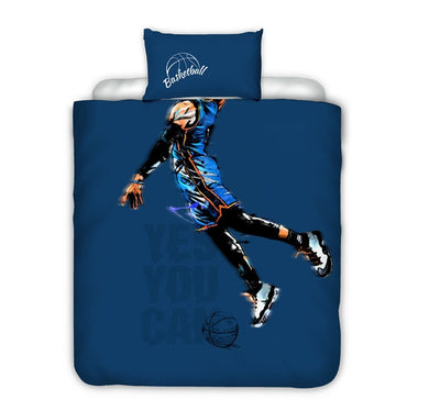 Basketball Bed Set - Single Size