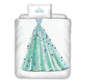 Princess Bed Set - Single Size