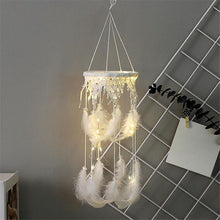 Load image into Gallery viewer, Lace Mobile Dream Catcher