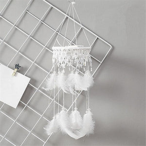 Lace Mobile Dream Catcher