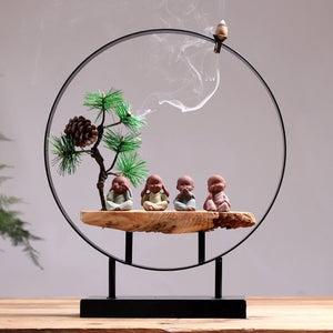 Art Sculpture Buddha Incense Burner