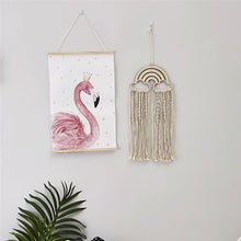Load image into Gallery viewer, Rainbow Macrame Dream Catcher