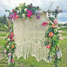 Load image into Gallery viewer, Macrame Arch Backdrop