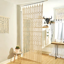 Load image into Gallery viewer, Macrame Wall Art Curtain