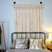 Load image into Gallery viewer, Macrame Hanging Tapestry Curtain