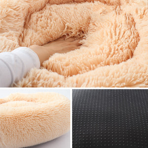 Fluffy Pet Bed - For Small and Medium Dog or Cat