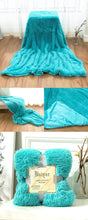 Load image into Gallery viewer, Fluffy Velvet Fleece Throw Blanket - Cot to Queen Size
