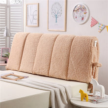 Load image into Gallery viewer, Faux Lambswool Fleece Headboard Cover