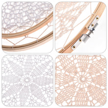 Load image into Gallery viewer, DIY Large Doily Lace Dream Catcher