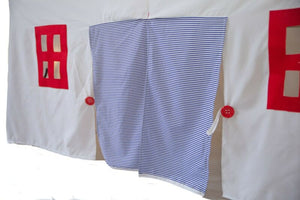 Nautical Tablecloth Playhouse