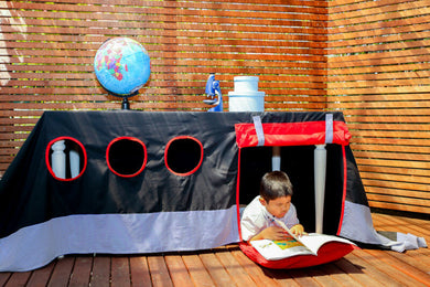 Boat Tablecloth Playhouse