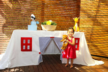 Load image into Gallery viewer, Nautical Tablecloth Playhouse