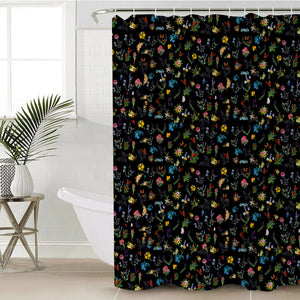 Gypsy Garden Shower Curtain Waterproof